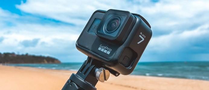 GoPro Hero 7 black - лучшая экшн камера 2020 года