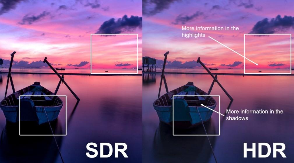 Расширенный динамический диапазон (HDR)