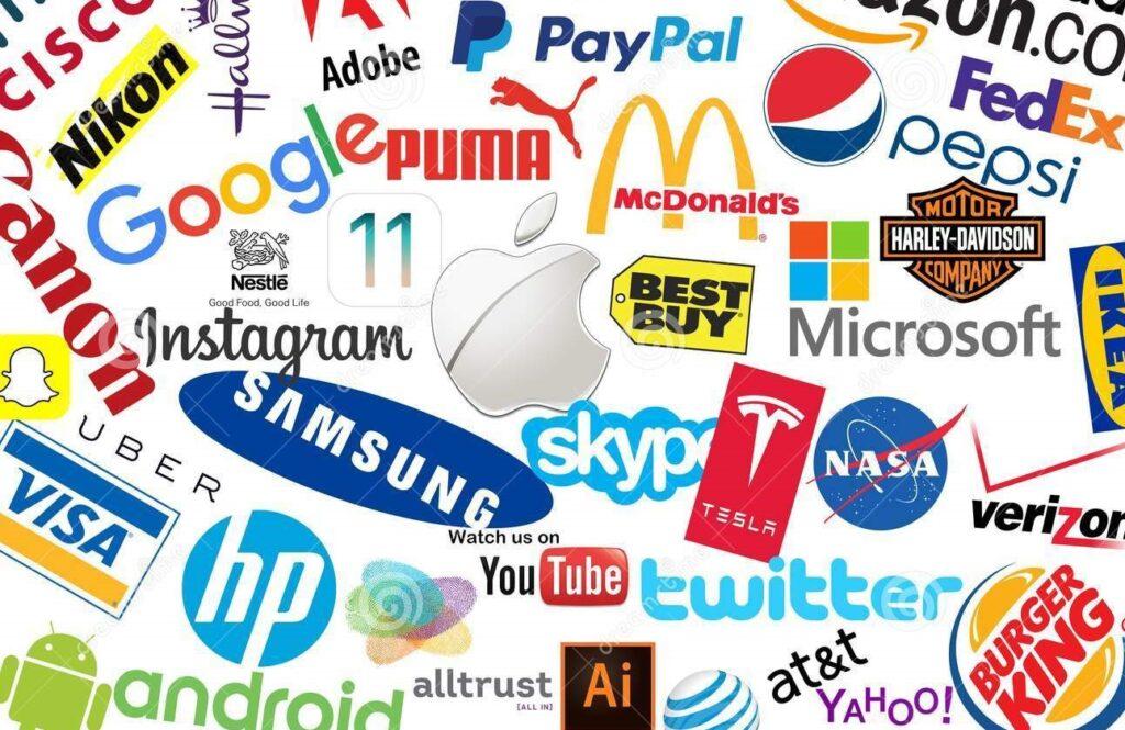 Логотипы брендов компаний