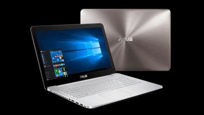 Игровой ноутбук от ASUS модели N552