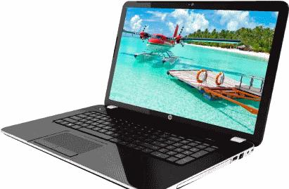 Игровой ноутбук от HP модель Pavilion 17